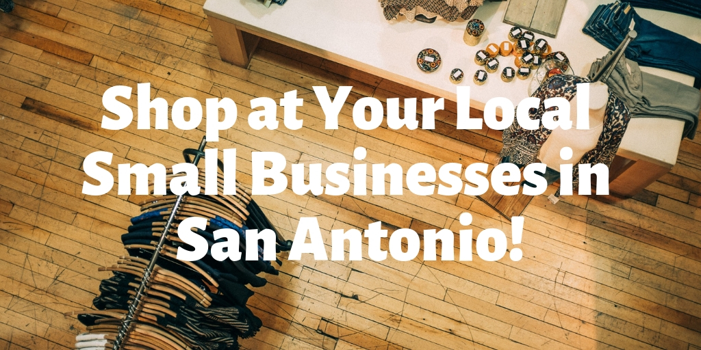 This Saturday, November 24th is small business Saturday. That means that you can make a difference in your community by shopping local. Your local small businesses are what make your neighborhoods special. Show your support this weekend and visit some of our personal favorite small businesses in San Antonio!